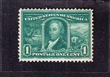 Us 323 1c Louisiana Purchase Mint Vf Og Nh Scv $65