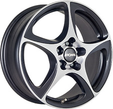 1 Cerchio in lega RONAL R53 Dull Black / Polish 7j 16 4x108 et25 65.1