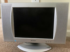 "Sharp LC-15SH4U 12"" Portable LCD Flatscreen TV Component/AV/S-Video/Coax Retro"
