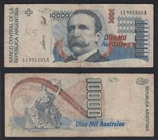 Argentina 10000 Australes 1989 (91) BB Vf- B-02