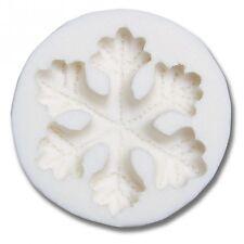 Marzapane/decorazione-FLEX-MODEL-Fiocco di Neve – forma in rilievo