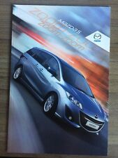 MAZDA 5 2010 gamme voiture brochure 7 Places Mpv TS TS2 Sport 1.8 2.0 1.6 Diesel