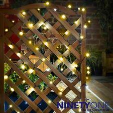 Solar LED String Lights 240pk Warm White Garden Gazebo Tree Trellis Deck Post
