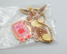 "Pokemon Ichiban Kuji Eevee gem 2"" metal keychain charm figure toy Japan"