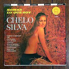"""CHELO SILVA """"NOMAS LO QUE SOY"""" LFP-3001 LP CHEESECAKE COVER ART NUDE HAY LOFT"""
