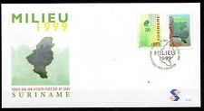 Suriname - 1999 Natural reserve - Mi. 1703-04 clean unaddressed FDC
