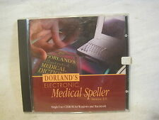 Dorland's Electronic Medical Speller 3.0 cd rom Windows Macintosh software
