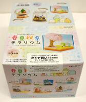 Re-ment Sumikko Gurashi Four Seasons Terrarium 1 BOX 6 Figures Complete Set