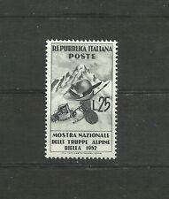 Italy 1952 Show National Alpine Troops MNH  italia