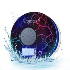 2nd Gen Hromen IPX7 Waterproof Bathroom Bluetooth Shower Speaker FM Radio Strong