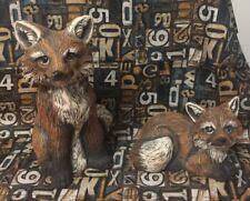 New listing Fox Figurines, Set Of 2