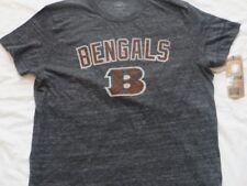 Nfl Cincinnati Bengals Gray T-Shirt Large/L Nwt!