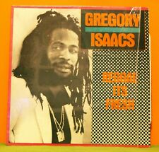GREGORY ISAACS - REGGAE ITS FRESH - TAD'S 1988 - IN SHRINK EX VINYL LP RECORD