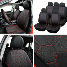 Set Soccer Ball Style Vehicle Car Interior Accessories Seat Cover Stretchability