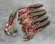 Soft Plastic Crawfish X6, 11cm, Scented Lure, Grub, Bug, Yabbie, Creature Bait