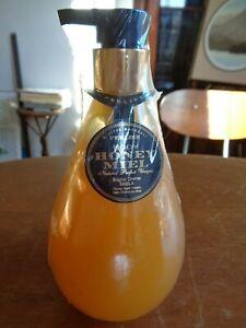 Perlier Body Honey Miel Bath & Shower Cream, 500 mL / 16.9 fl oz