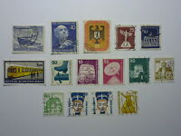 LOT 665 TIMBRES STAMP DIVERS ALLEMAGNE BERLIN OCCIDENTAL ANNEE 1955 - 1989