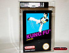 Kung Fu Euro Black Box Nintendo NES Brand New Sealed VGA U90 Gold Mint Condition