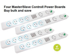 Smart Power Boards four Green Energy Saving with Master Socket & Surge Protected