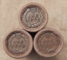 1x 50 Cent Indian Head Penny Cent Roll 50 Cents IHC 1859-1909 Old US Pennies J09