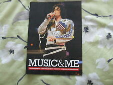 MICHAEL JACKSON MUSIC AND ME MJNI PROGRAM  NEW COLLECTABLE