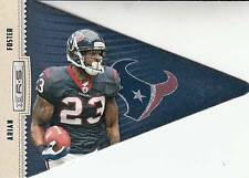 2012 Rookies and Stars Player Pennant #7 Arian Foster Texans
