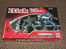 2007 PARKER GAMES RISK TRANSFORMERS CYBERTRON WAR EDITION SOME PARTS SEALED