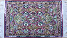 1:12 Scale 25cm x 15cm Woven Turkish Carpet Tumdee Dolls House Miniature P21m