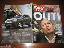 AUTOSPRINT 2008/10=RON DENNIS OUT=RALLY MESSICO=LOEB=PUBBLICITA' OPEL ANTARA=