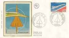 LETTRE PREMIER JOUR CONCORDE PARIS RIO DE JANEIRO AVIATION 1976
