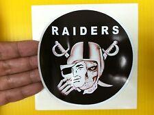 "BEST PRICE!! LOT OF 10 NFL DECAL/ STICKER OAKLAND RAIDERS  NEW L@@K  5"" X 5"""