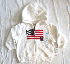 18 mo The Children's Place American Flag Hooded Sweatshirt Jacket Hoodie NEW