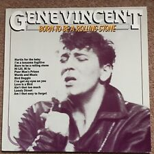 Gene Vincent Born To Be A Rolling Stone LP Buy 5 LPs For £3.99 Post (UK)