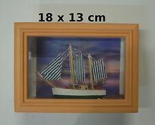 vitrine miniature, scène maritime , décoration, maison de poupée 17