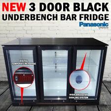 NEW 3 Door Under Bench Bar Fridge Beer Refrigerator Cooler