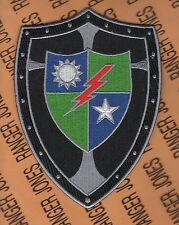 US Army 75th Infantry Airborne Ranger Crusaders pocket patch