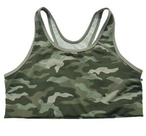 Victorias Secret PINK Ultimate Medium Support Sports Bra Camouflage - Large