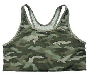 Victorias Secret PINK Ultimate Medium Support Sports Bra Camouflage - Large