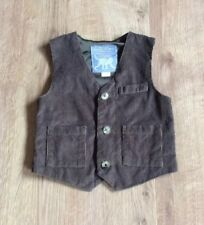 MONSOON BOYS WAISTCOAT, BUTTON FRONT, LINED, POCKETS - 1.5-2 YEARS