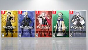Fire Emblem: Three House Nintendo Switch Covers &Cases. All Five House leaders