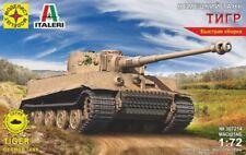1/72 Scale model. Tank German tank TIGR