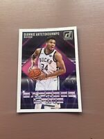 2018-19 Panini - Donruss Basketball: Giannis Antetokounmpo - Express Lane