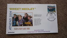 2004 AUSTRALIAN OLYMPIC GOLD MEDAL WIN FDC, ATHENS WOMENS SWIMMING RELAY TEAM