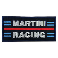 MARTINI RACING Logo Embroidered Iron On Patch #PMN011