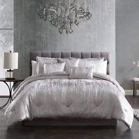Riverbrook Home Turin Comforter Set, King, 7-Piece, Silver