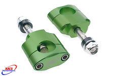 KAWASAKI KX KXF 125 250 450 28.6 mm oversize FAT BAR Guidon Supports pinces 12 mm