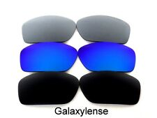Galaxy Replacement Lens For Oakley Scalpel Sunglasses Black&Blue&Gray Polarized