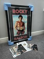 Sylvester Stallone Signed Rocky Picture - Large 74cm x 53cm - BECKETT LOA - NEW