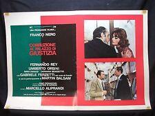 FOTOBUSTA CINEMA - CORRUZIONE AL PALAZZO DI GIUSTIZIA - FRANCO NERO - 1975 - 02