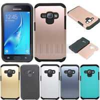 Hybrid Hard Armor Case Shockproof Cover For Samsung Galaxy Luna/Express 3/Amp 2